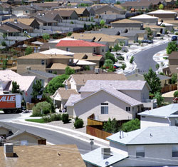 The suburban model cannot meet the legitimate aspirations of adequate housing of billions of humans